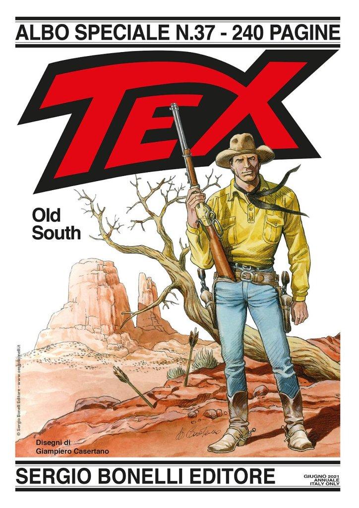 Speciale Tex 37: Old South (giugno 2021), copertina di Giampiero Casertano