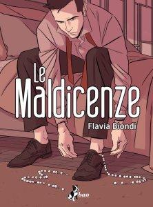 Le maldicenze, copertina di Flavia Biondi