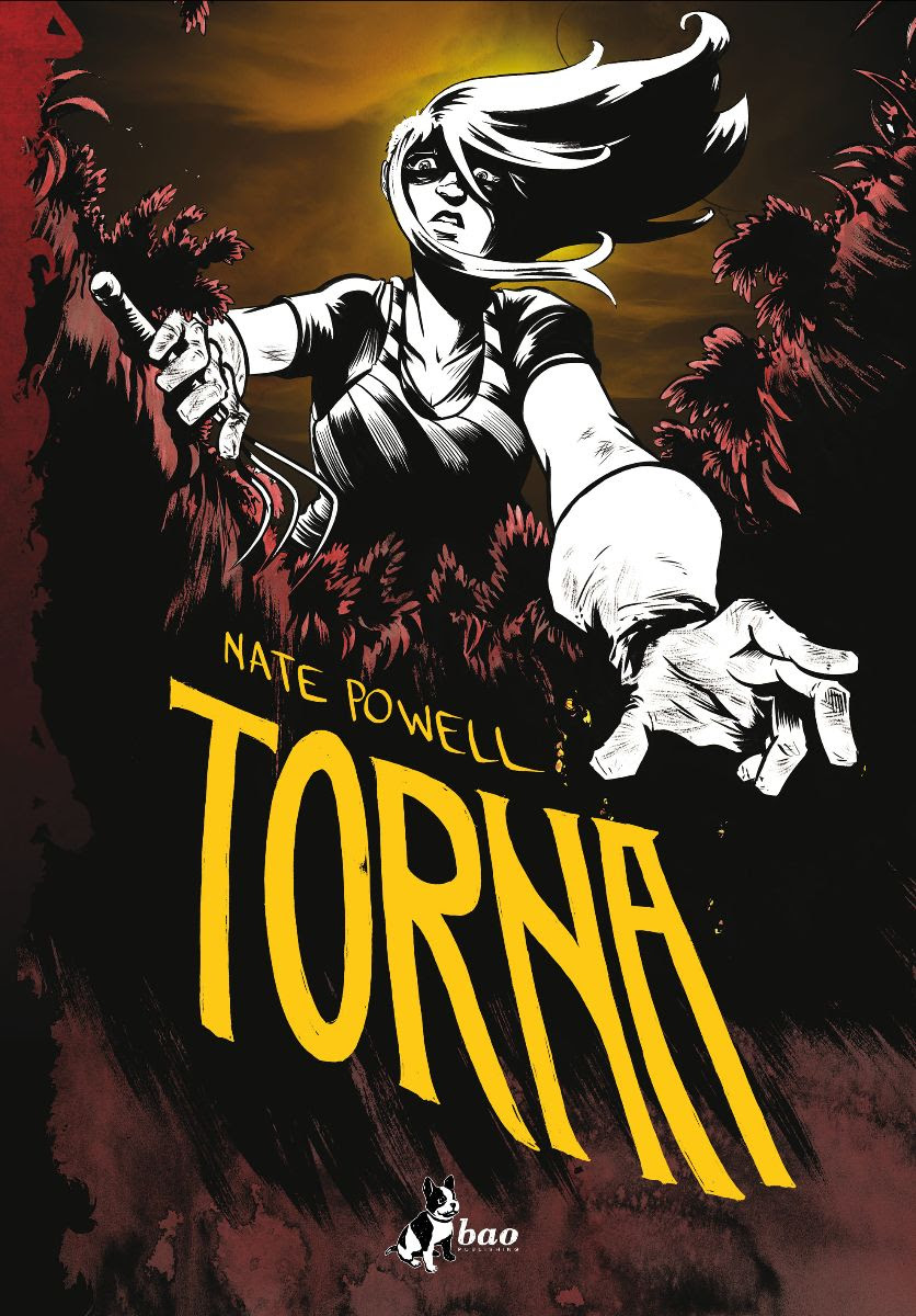Torna, copertina di Nate Powell