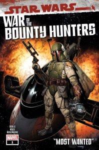 Star Wars: War of the Bounty Hunters #1, copertina di Steve McNiven