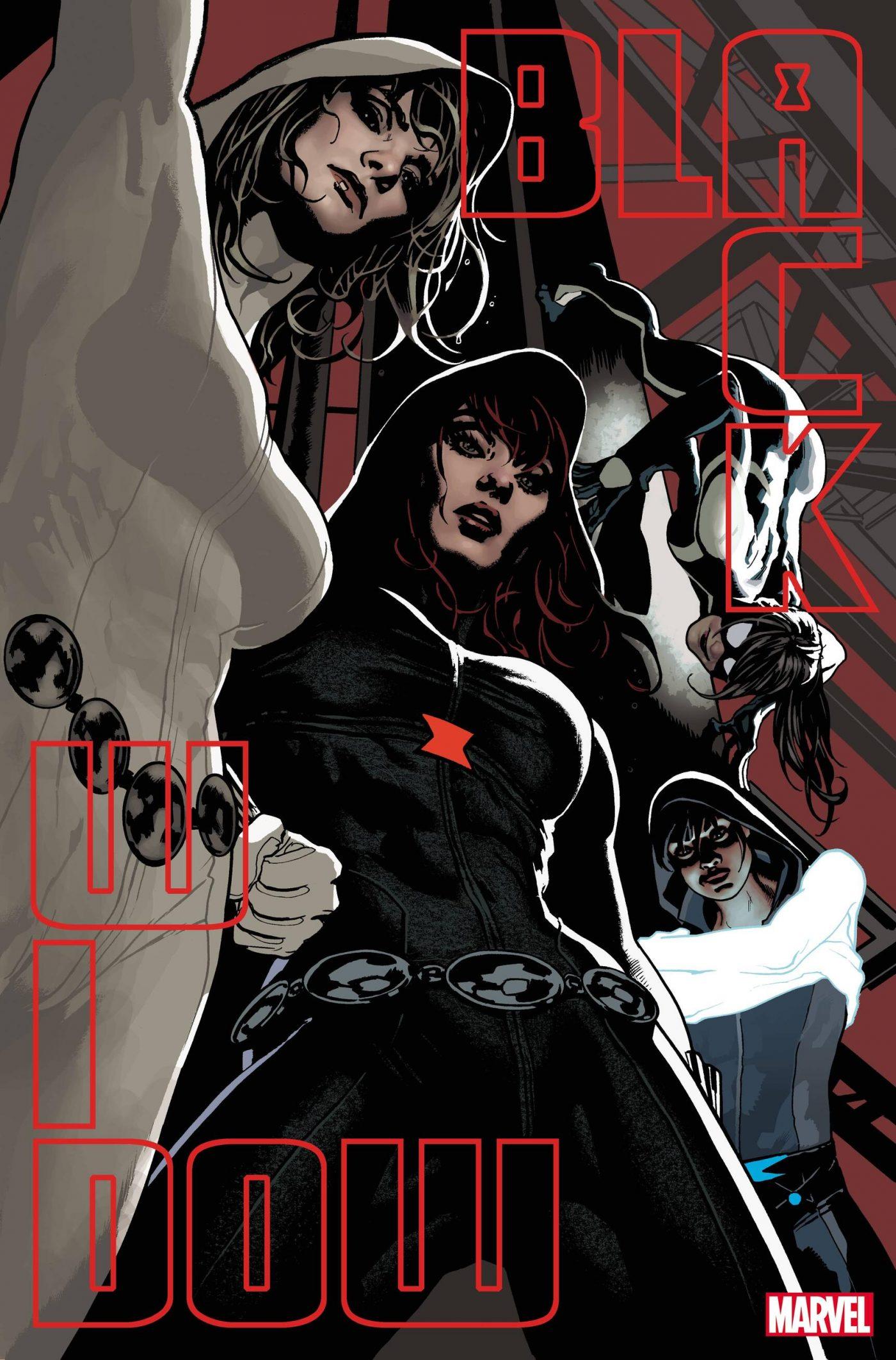 Black Widow #12, copertina di Adam Hughes