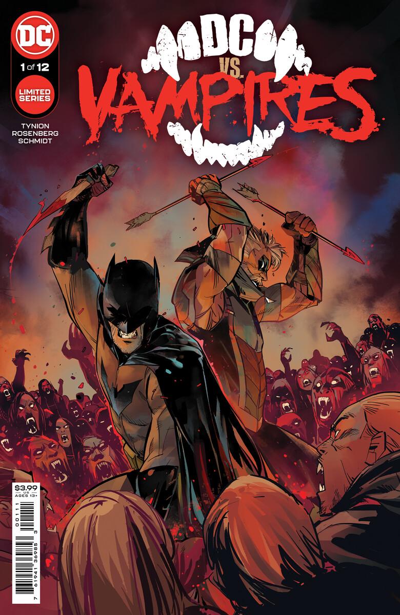 DC vs. Vampires #1, copertina di Otto Schmidt