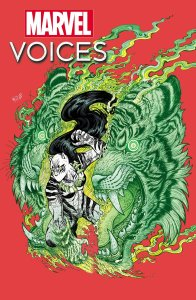Marvel's Voices: Comunidades #1, variant cover di Maria Wolf e Mike Spicer