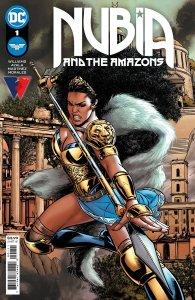 Nubia and the Amazons, copertina