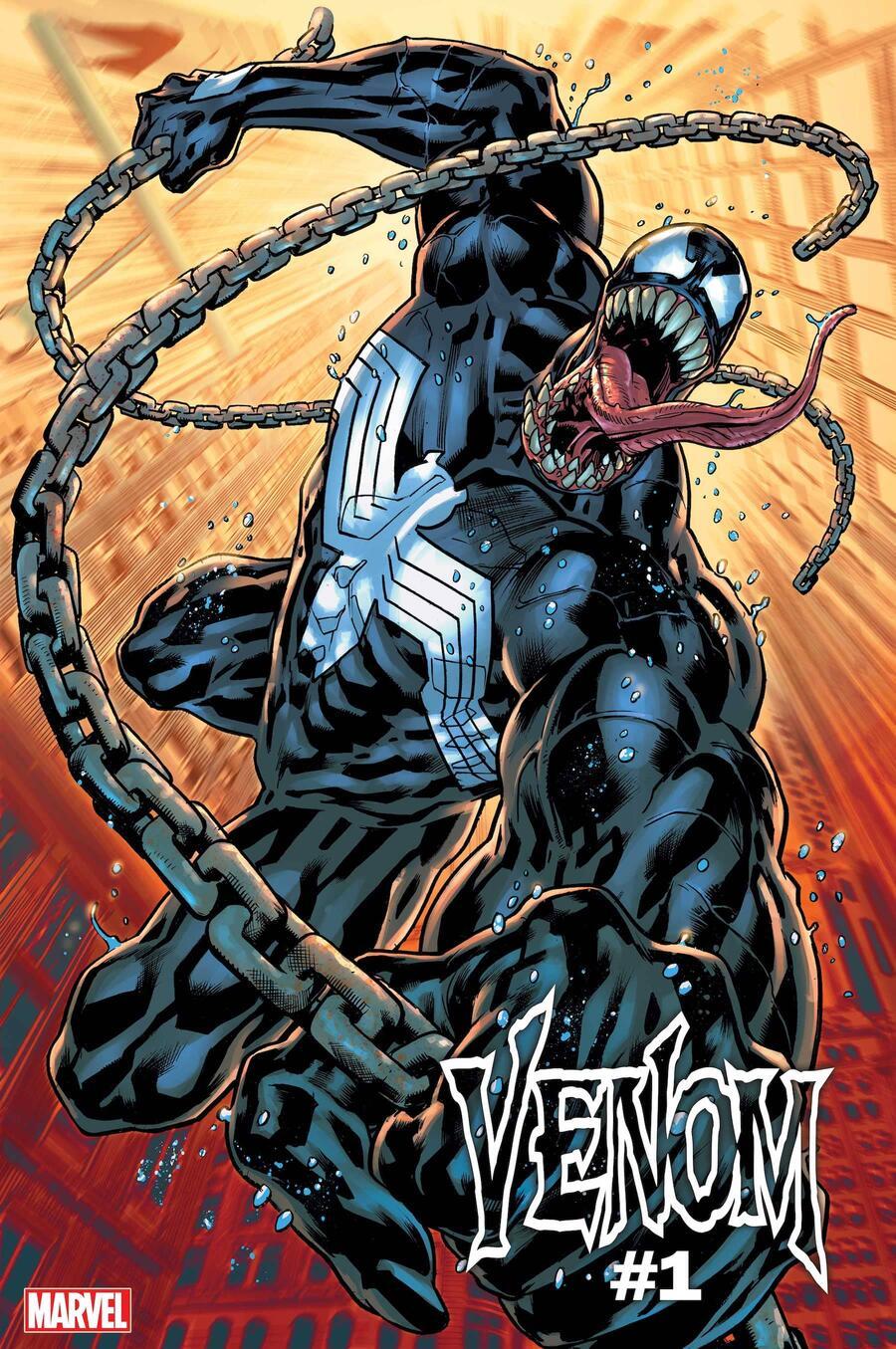 Venom #1, copertina di Bryan Hitch