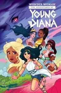 Wonder Woman: Advetures of Young Diana Special, copertina