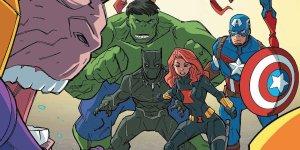 Avengers: We Are Resilent, copertina di Craig Rosseau