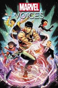 Marvel's Voices #1, copertina di Jim Cheung
