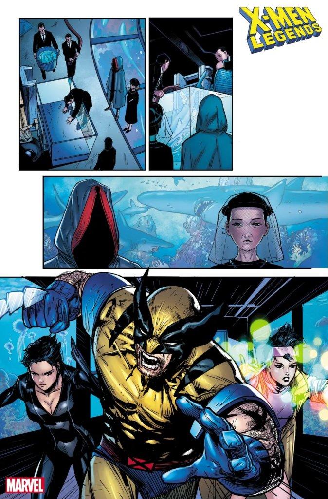 X-Men Legends #7, anteprima 01