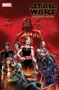 Star Wars: Crimson Reign #1, variant cover di Steve Cummings