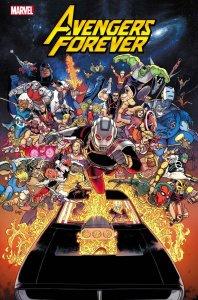 Avengers Forever #1, copertina di Aaron Kuder