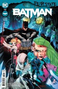 Batman #112, copertina di Jorge Jimenez