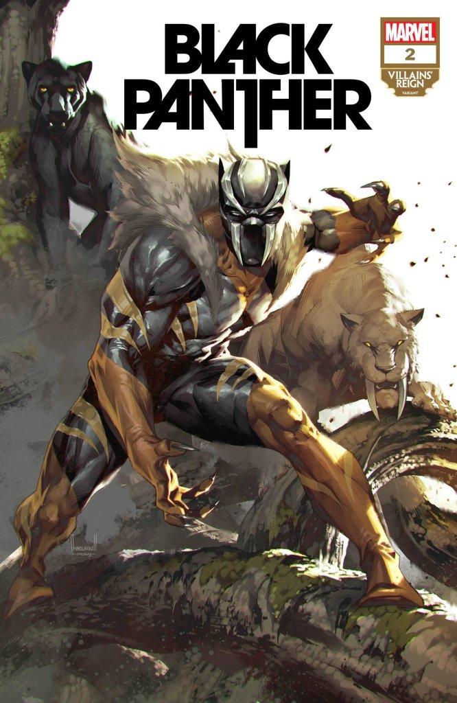 Black Panther #2, variant cover di Kael Ngu