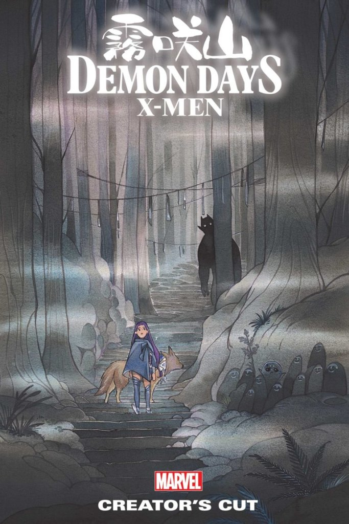 Demon Days: X-Men Creator's Cut, copertina di Peach Momoko