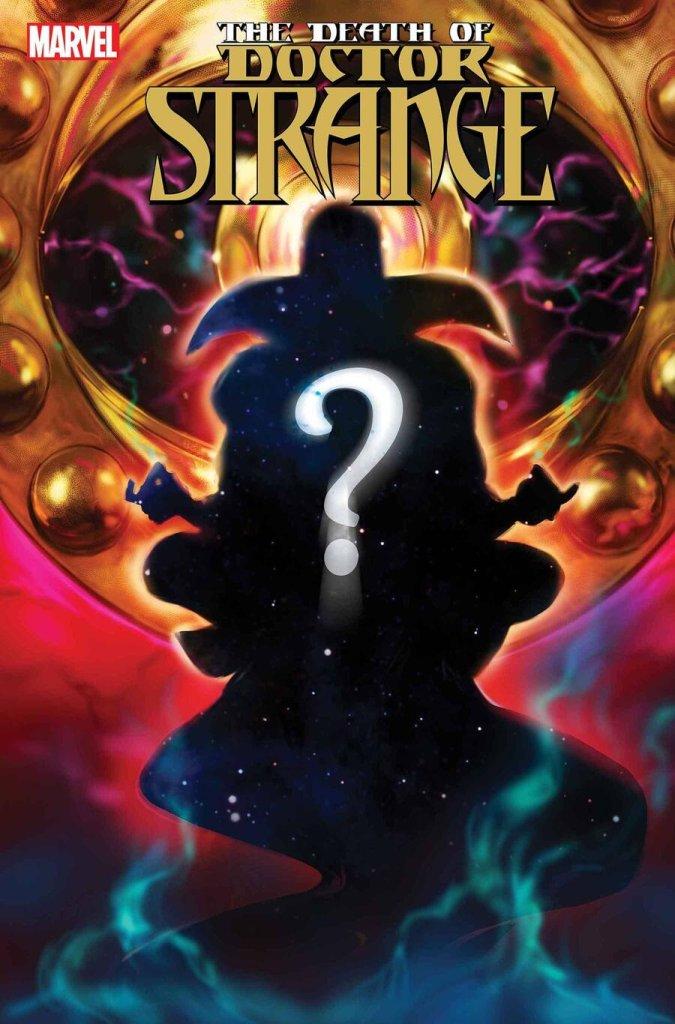 The Death of Doctor Strange #, copertina di Kaare Andrews