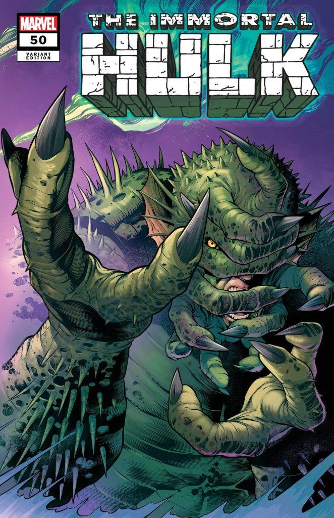 Immortal Hulk #50, variant cover di Carlos Pacheco