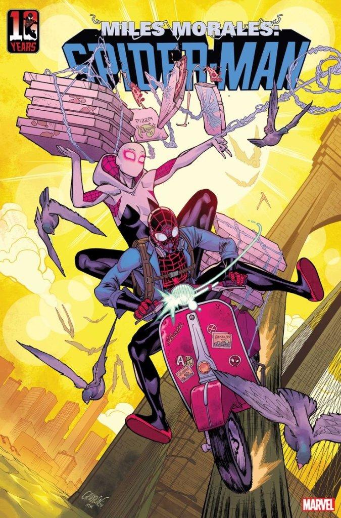 Miles Morales: Spider-Man #30, variant cover di Javier Garron