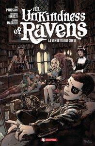Unkindness of Ravens, copertina di Dan Panosian