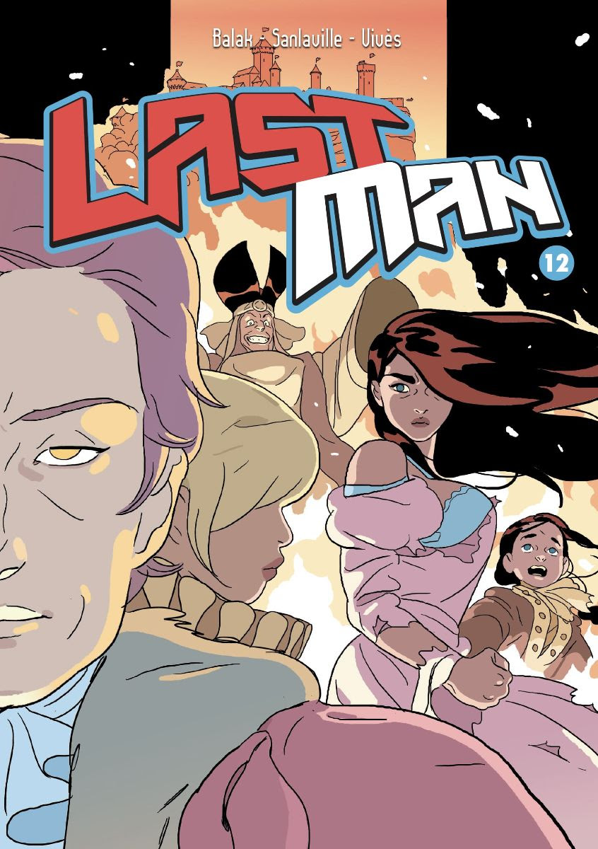 Last Man 12, copertina di Balak