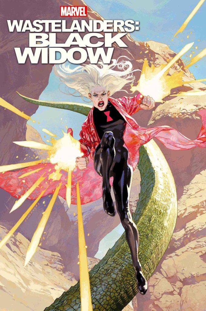 Wastelanders: Black Widow #1, copertina di Josemaria Casanovas