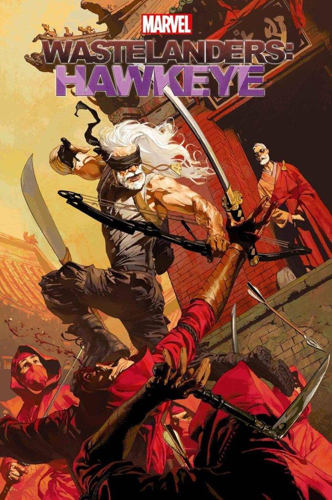 Wastelanders: Hawkeye #1, copertina di Josemaria Casanovas