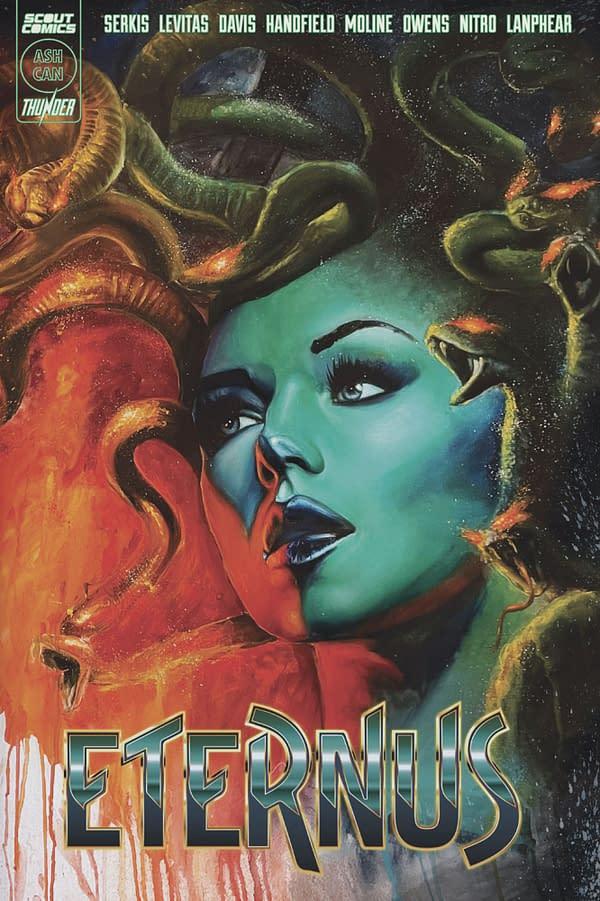 Eternus, copertina di Rob Prior