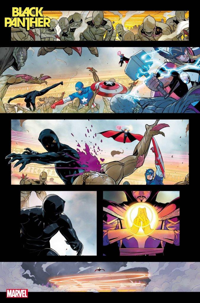 Black Panther #1, anteprima 02