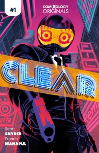 Clear #1, copertina di Francis Manapul