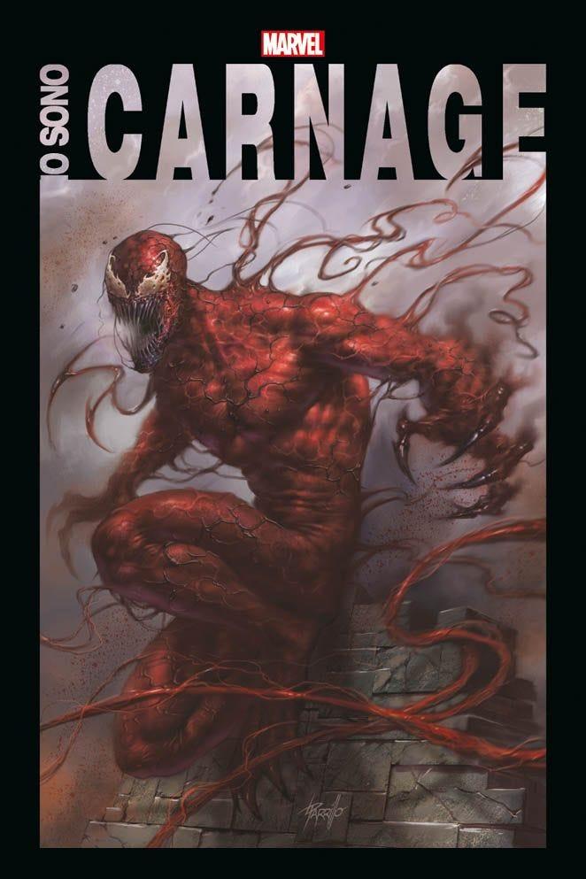 Io sono Carnage, copertina