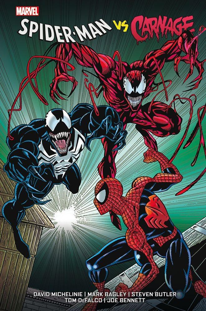 Spider-Man vs. Carnage, copertina