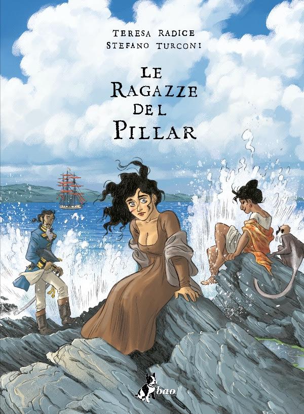 Le ragazze del Pillar vol. 2, copertina di Stefano Turconi