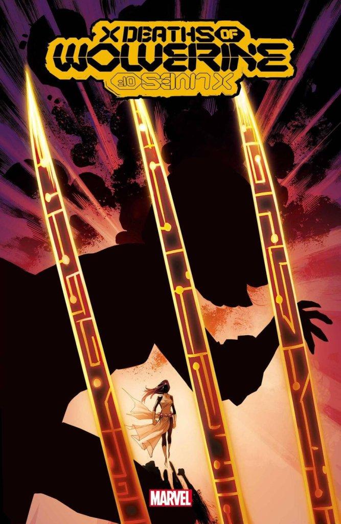 X Deaths of Wolverine #2, copertina di Adam Kubert