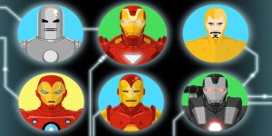 Cinquanta sfumature di Iron Man