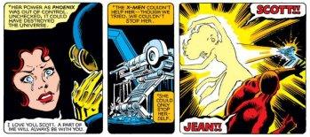 Morte di Jean Grey Fenice Nera