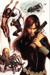 Secret Avengers #1 cover by Mike Deodato
