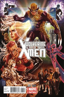 Wolverine and the X-Men #1 variant cover by Mark Brooks