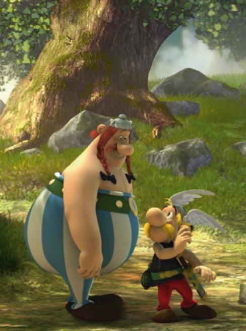 Asterix e Obelix nei boschi