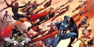 Marvel Avengers World slide