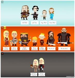 Game of Thrones illustrato