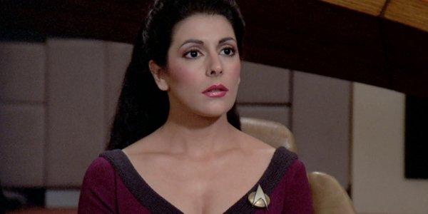 Star Trek Marina Sirtis Deanna Troi banner
