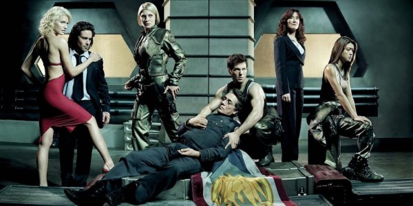 battlestar galactica serie
