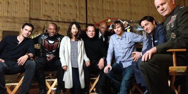 agents of shield i produttori condividono le foto dietro le quinte della serie