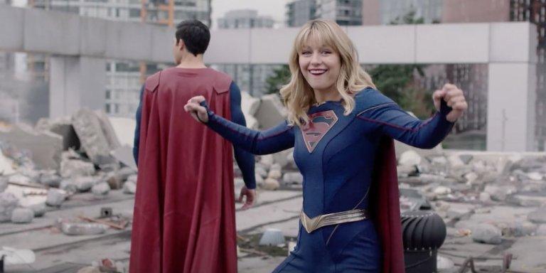 Supergirl 5 gag reel