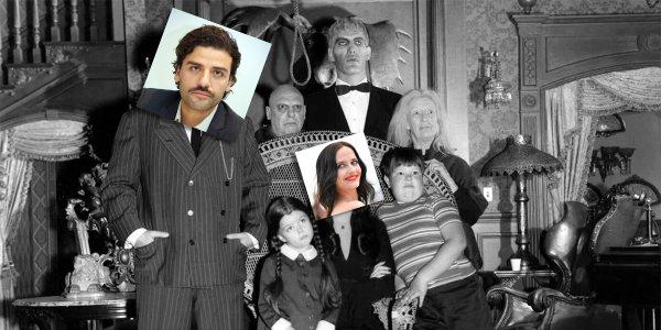 la famiglia addams fan casting della serie di tim burton