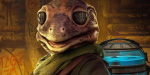The Mandalorian Frog lady