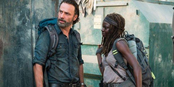 The Walking Dead - Andrew Lincoln - Danai Gurira