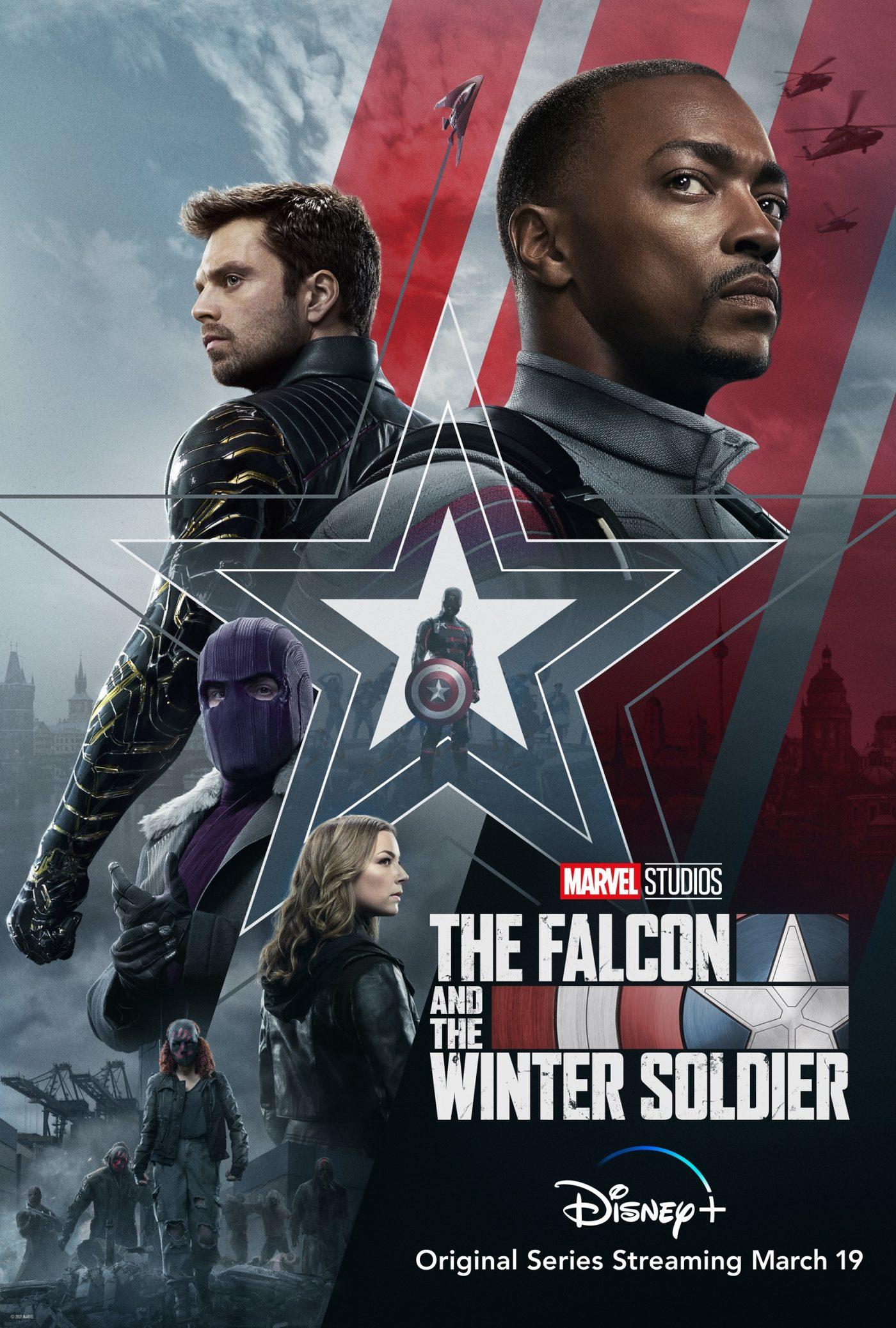 FALCON winter soldier poster