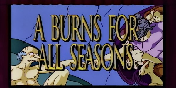 simpson burns per tutte le stagioni