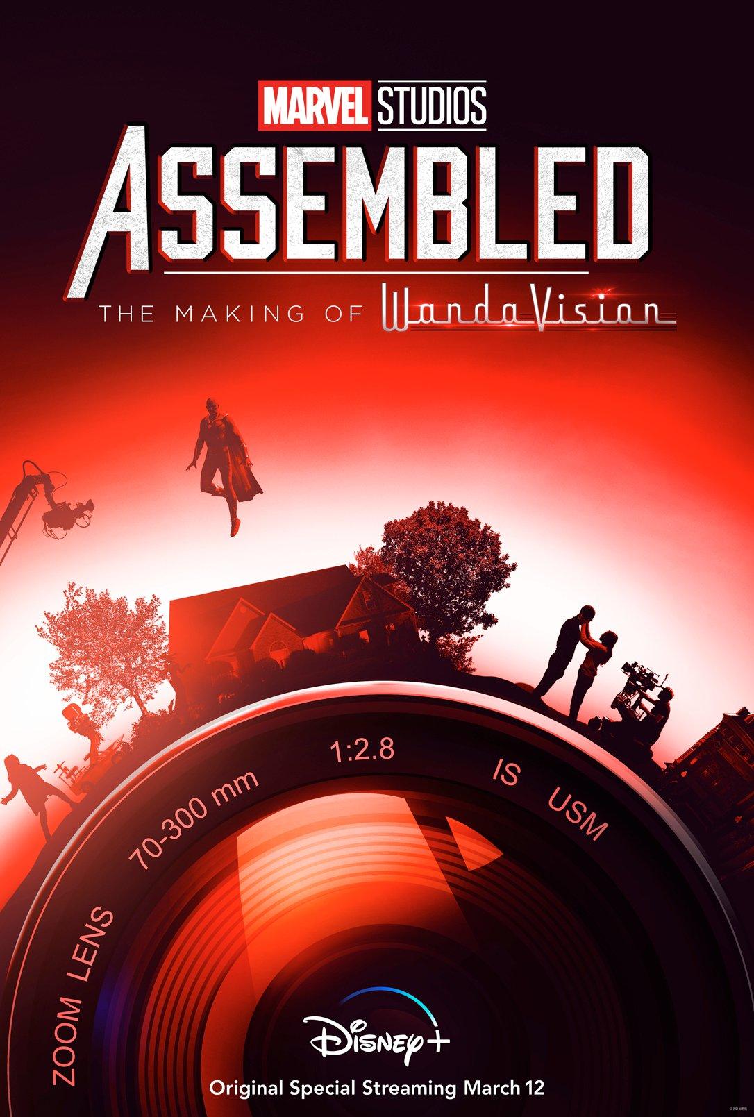 assembled wandavision