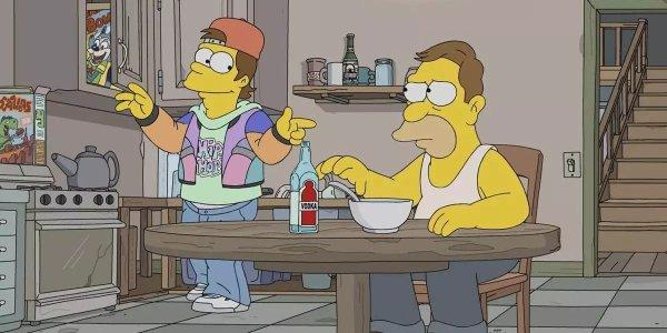 I Simpson episodio flashback homer